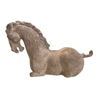 Greek Etruscan Horse Torso, Museum Replica For Sale