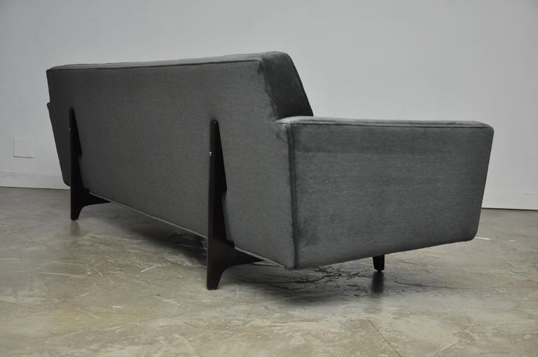 Captivating Dunbar Bracket Back Sofa With Flared Arms By Edward Wormley   Image 3 Of 9
