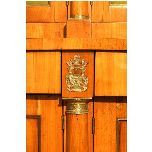 Biedermeier Large 19th C. Austrian Biedermeier 12 Door Cabinet For Sale - Image 3 of 5