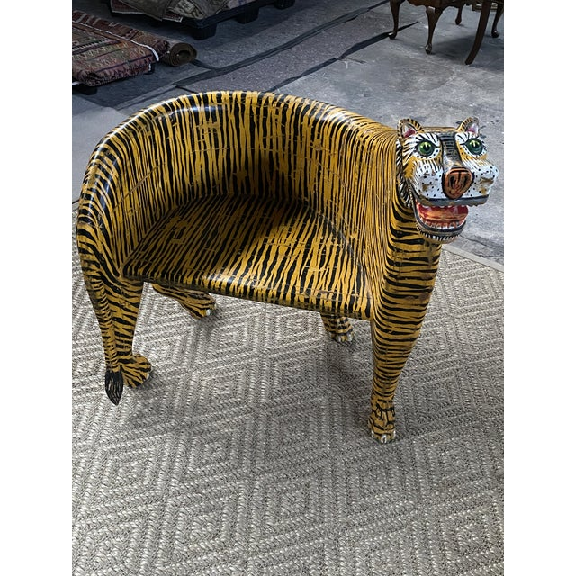 1970s Vintage Tiger Tub Chairs- a Pair For Sale - Image 6 of 13