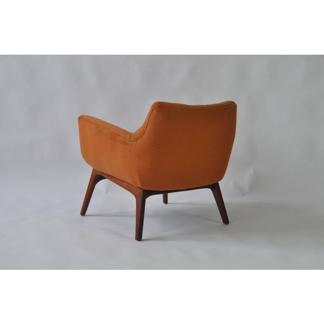 Pair of Adrian Pearsall Lounge Chairs For Sale In Boston - Image 6 of 6