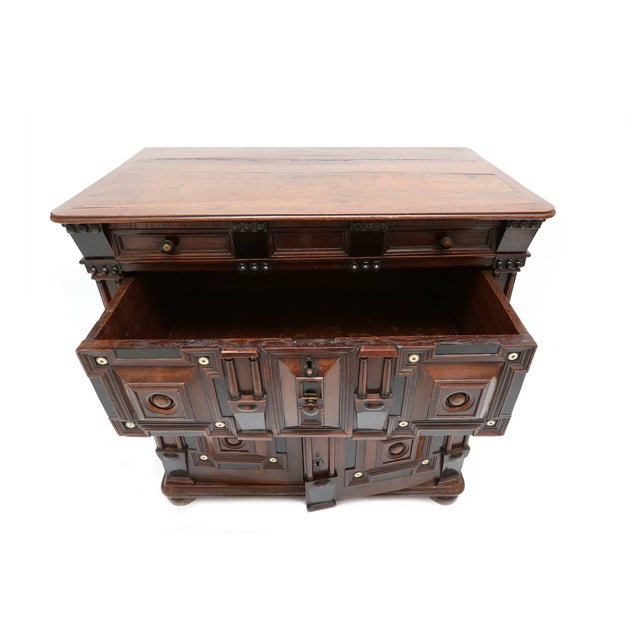 Baroque Antique Brutalist Chest For Sale - Image 3 of 8