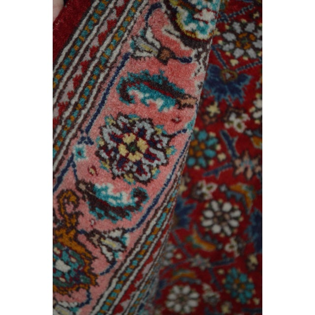 "Hand Knotted Persian Rug - 3'3"" X 5'2"" - Image 5 of 5"