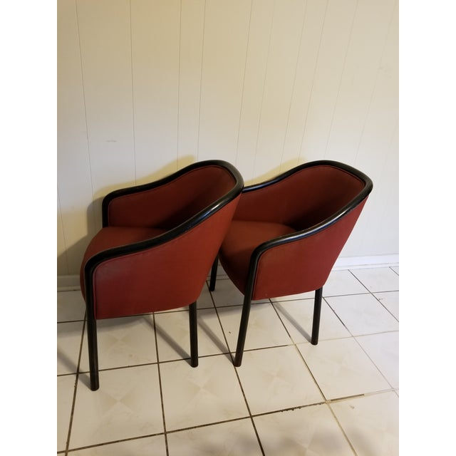 Mid-Century Modern Vintage Mid Century Modern Ward Bennett Chairs- A Pair For Sale - Image 3 of 12