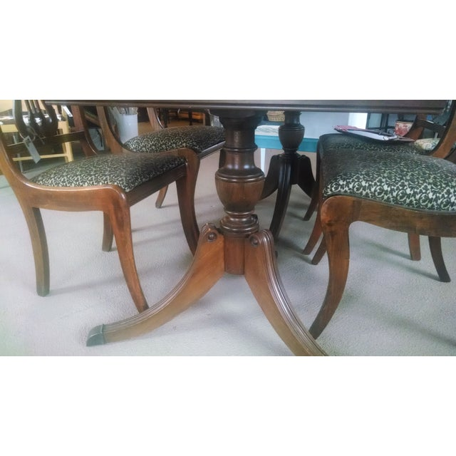 Duncan Phyfe Dining Set - Image 6 of 10
