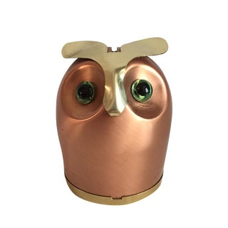 Mid-Century Owl Coin Bank For Sale