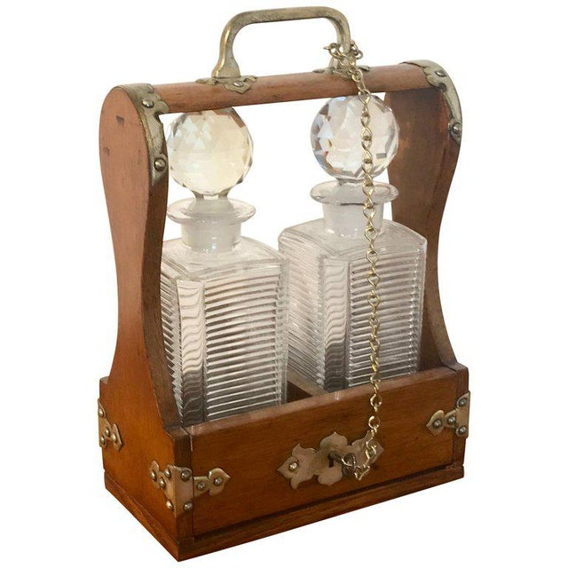 Mappin Bros. Diminutive Tauntless With Cut Glass Decanters For Sale - Image 13 of 13