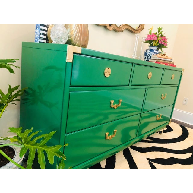 Thomasville Hollywood Regency Sideboard For Sale - Image 10 of 12
