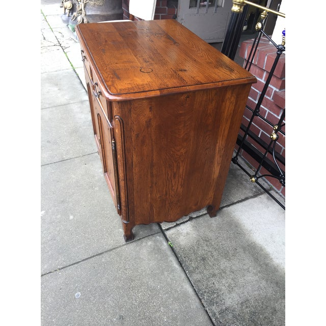 French Country Oak Cabinet - Image 4 of 8