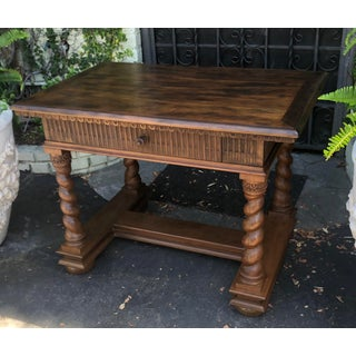Charles Pollock William Switzer Spanish Colonial Work Table Desk Preview