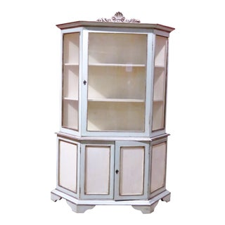Italian Swedish Style Vitrine For Sale