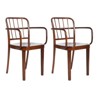 Dining Chairs by Josef Frank for Thonet, 1930s - A Pair