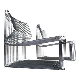 1970s Verner Panton for Fritz Hansen Pantonova Chairs - a Pair For Sale