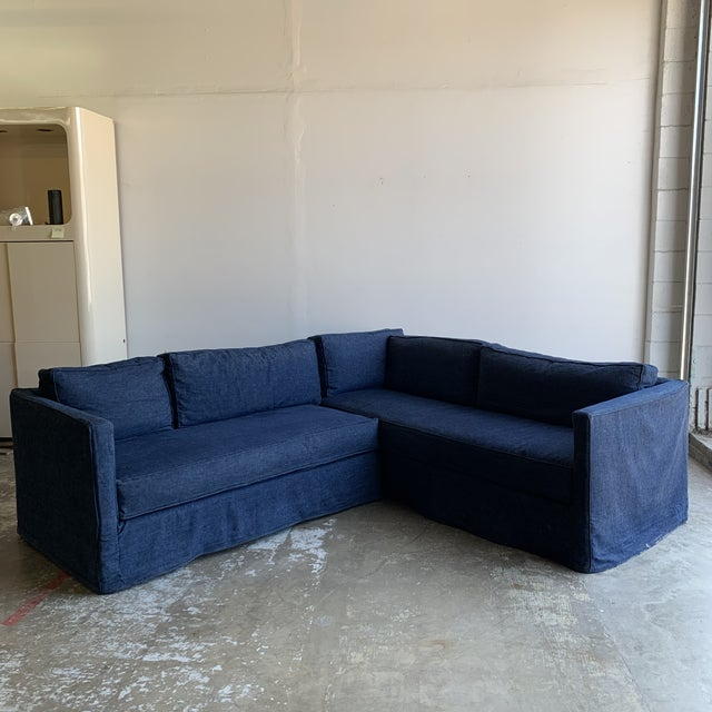 Boho Chic Cisco Brothers Vista Sectional From Urban Natural For Sale - Image 3 of 13