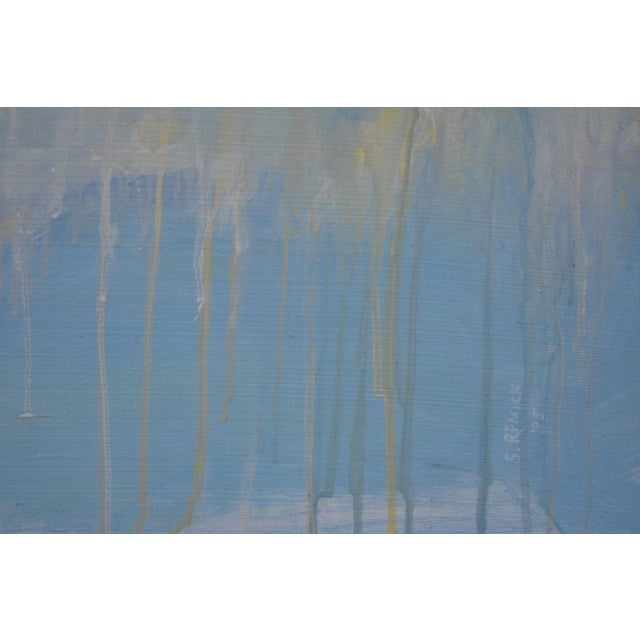 "Stephen Remick Stephen Remick ""Spring Equinox"" Abstract Painting For Sale - Image 4 of 10"
