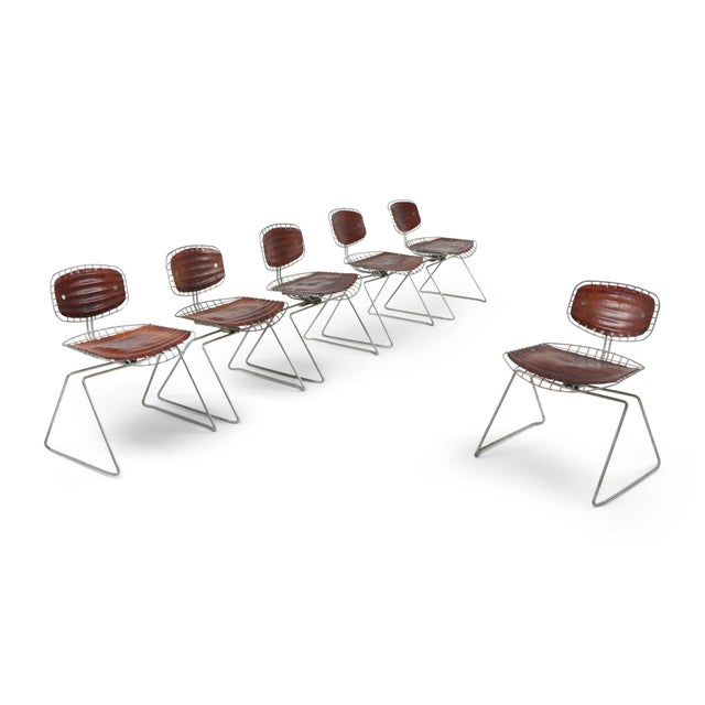 Centre Pompidou Beauburg Chairs Selected by Jean Prouvé For Sale - Image 12 of 12