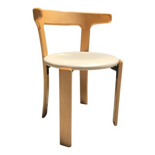 "1970s Vintage Dietiker for Stendig Bruno Rey Bentwood ""Rey Chair""- Set of 4 For Sale"