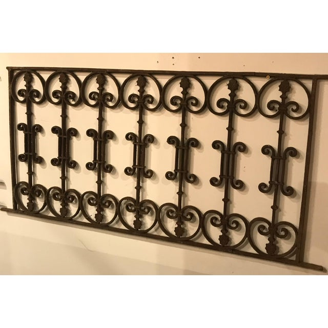 French Late 19th Century French Antique Gate For Sale - Image 3 of 8