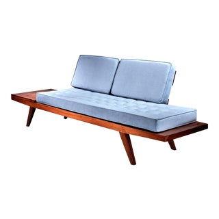 Rude Osolnik Studio Crafted Wooden Sofa, USA, 1960s For Sale
