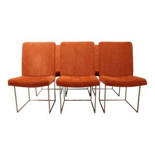 Mid-Century Danish Modern Milo Baughman Thayer Coggin Dining Chairs - Set of 6