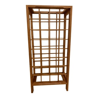 Mission Oak Wine Rack For Sale