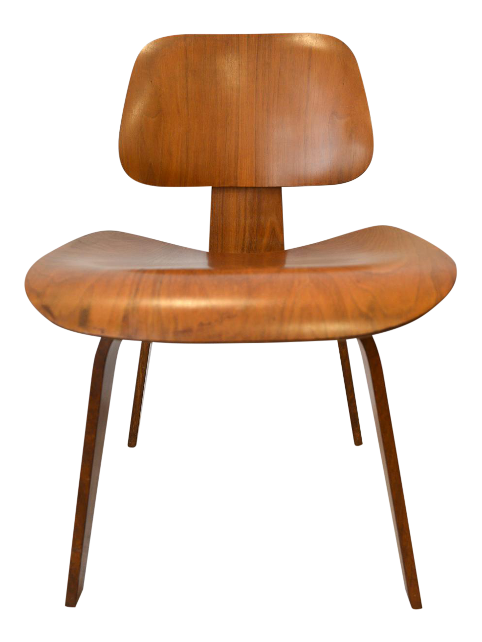 1970s Mid Century Moderm Eames DCW Molded Plywood Chair