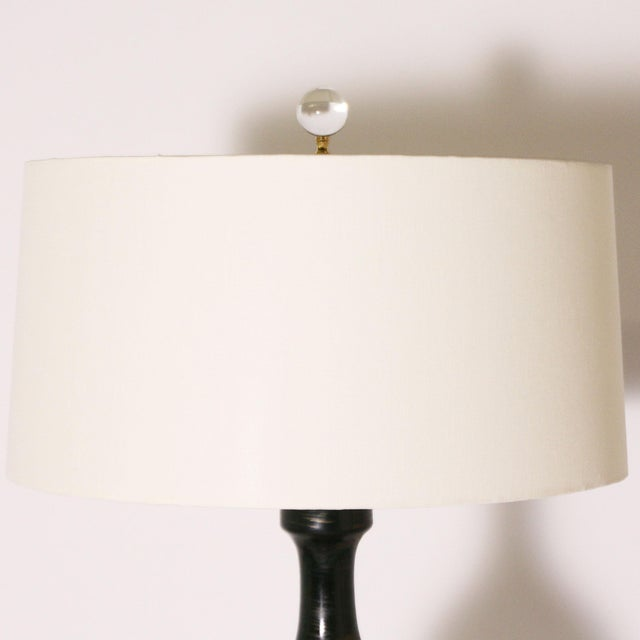Ombre Glaze Urn Lamp, C. 1960 For Sale - Image 4 of 8