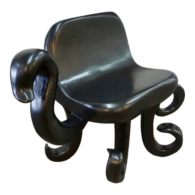 """1960's Hand Crafted """"Octopus"""" Chair For Sale"""