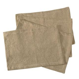 Sarreid Ltd. Belgium Linen Placemats - Set of Four For Sale
