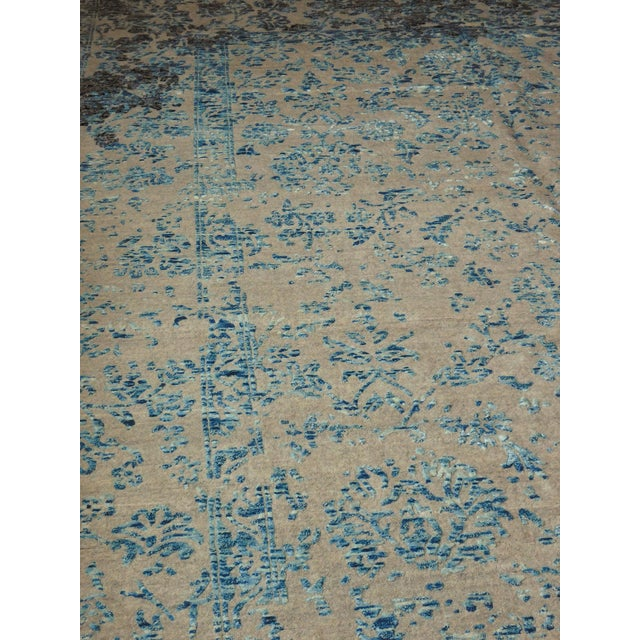 Hand Knotted Indian Rug - 8′ × 10′ - Image 2 of 11