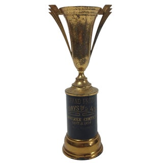 Vintage Trophy - Days of '49 Whisker Contest 1954 For Sale