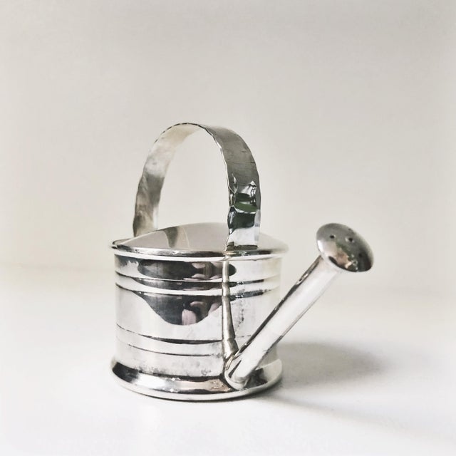 1940s 1947 Cartier Sterling Silver Watering Can Vermouth Dripper For Sale - Image 5 of 7
