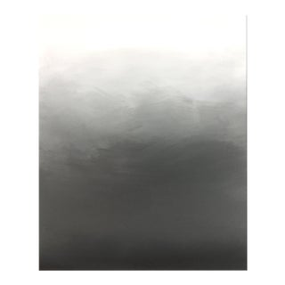Abstract Gray Ombré - 36x48 For Sale