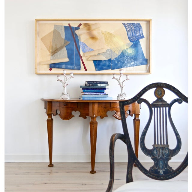 Mexican Chippendale Console Table For Sale In West Palm - Image 6 of 7
