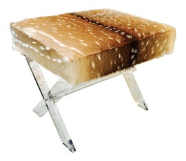 Image of Cowhide Low Stools