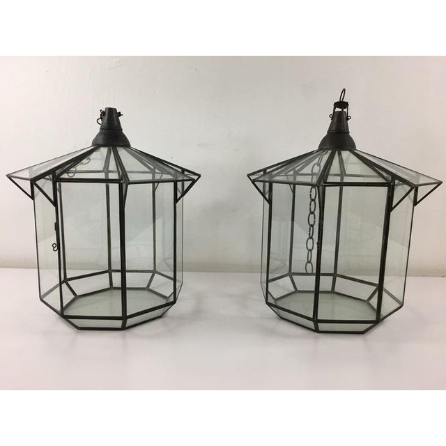Hang this gorgeous, Glass Candle Holder in a protected area outside or in your home for sparkling and romantic...