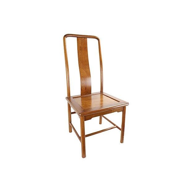 Modern Ming-Style Huali Chairs - A Pair - Image 3 of 5
