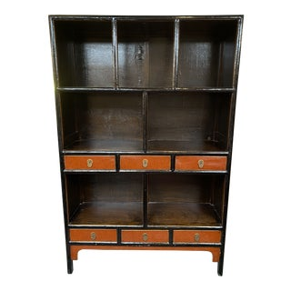 Mid 20th Century Asian Display Cabinet For Sale