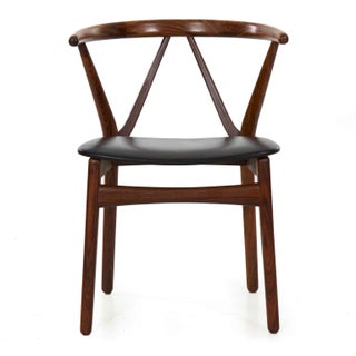 Danish MCM Hoop Arm Chair by Henning Kjaernulf, Circa 1950s Preview