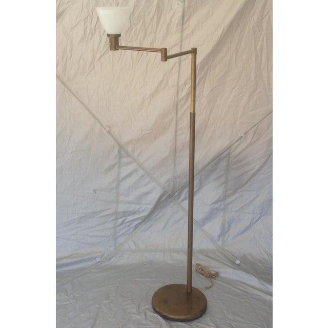 Nessen Studios Adjustable Swing Arm Floor Lamp - Image 3 of 7