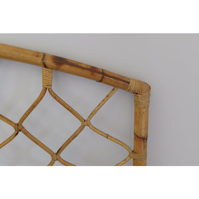 King Size Bamboo Rattan Headboard - Image 3 of 6