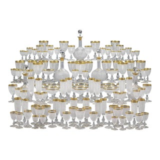 Exquisite Baccarat Service For Sale