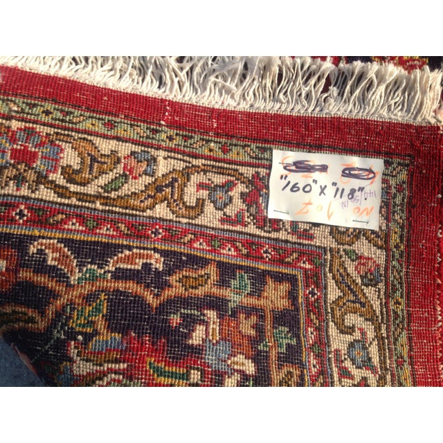 Colorful Kashan Hand-Tied Rug - 13' X 10' - Image 5 of 8