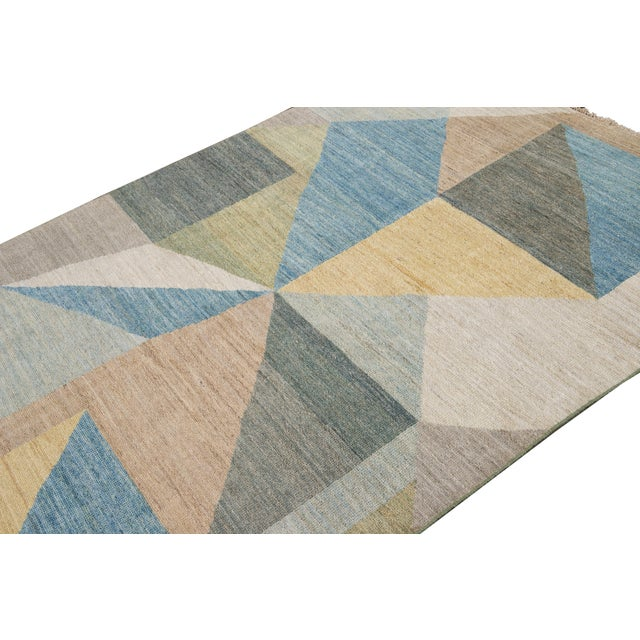 21st Century Modern Deco Wool Rug For Sale - Image 4 of 11