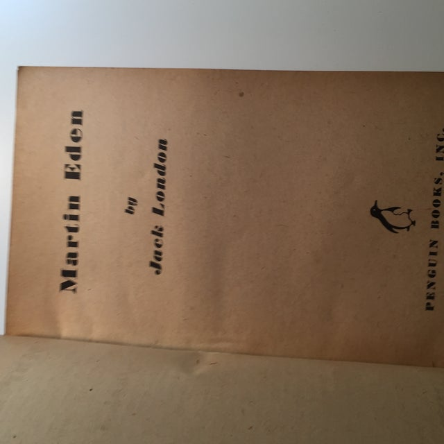 Jack London 1946 Martin Eden Softcover For Sale - Image 4 of 6