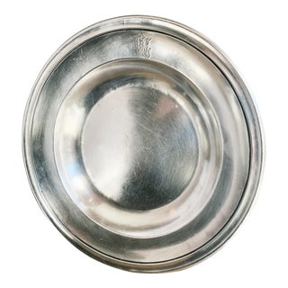 Antique Christofle Silver Plated Wagons-Lits Orient Express Bowl For Sale