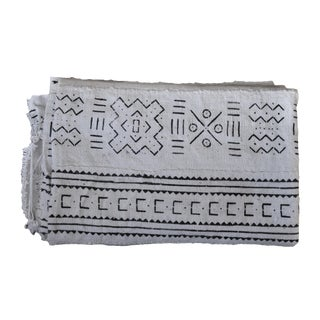 1990s African Mud Cloth Throw For Sale
