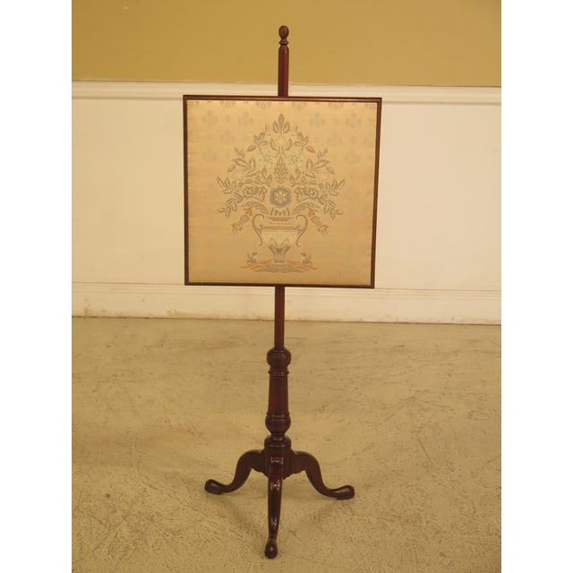 Kittinger CW-92 Colonial Williamsburg Mahogany Fire Screen - Image 11 of 11