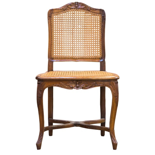 Set of Antique Caned Dining Chairs - Set of 7 - Image 1 of 6
