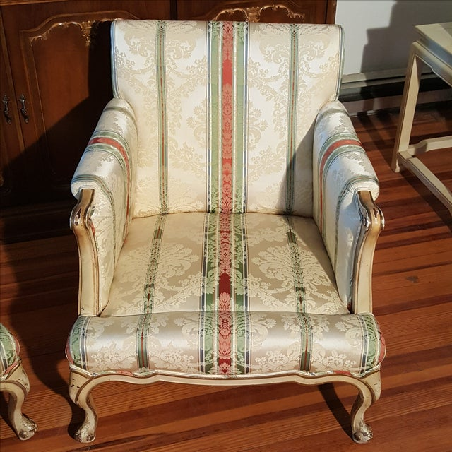 19th Century French Prov. Club Chairs - a Pair - Image 9 of 11
